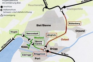 The Biel autobahn bypass