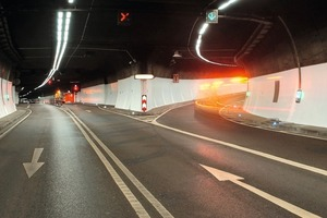 """<div class=""""bildtext_en"""">The Heslach tunnel built in the 1980s was upgraded with safety features such as lighting, fire protection and loudspeakers systems as well as a new tunnel wall coating.</div>"""