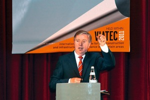 Pat Cox, EU coordinator of the TEN axis