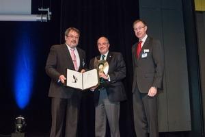 "<div class=""bildtext_en"">Awarding of the 2013 STUVA Prize, from the left: Univ.-Prof. Dr.-Ing. Martin Ziegler, chairman of STUVA Inc., Baurat h.c. Dipl.-Ing. Dr. mont. Georg-Michael Vavrovsky, Dr.-Ing. Roland Leucker, CEO STUVA Inc.</div>"