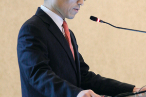 """<div class=""""bildtext_en"""">Chung-Sik Yoo (South Korea), animateur of the ITA Working Group 2 on Research</div>"""