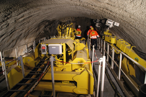 Tunnel enlargement portal TEP 8400B for the Langenau and Hollerich tunnels