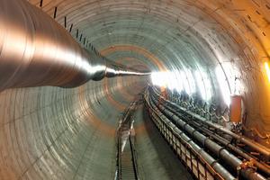 """<div class=""""bildunterschrift_en"""">View of the completed tunnel bore </div>"""