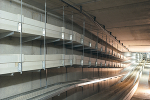 "<div class=""bildtext_en"">Special solutions: At Berlin Main Station extensive technical installations were secured safely with fire protection cable ducts. This major scheme required a large number of special solutions</div>"