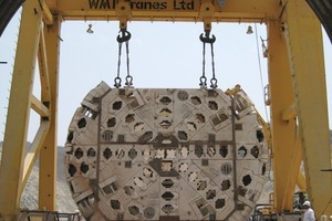 The Double Shield TBM for India's Veligonda Water Tunnel was assembled at the jobsite in 2009, using Onsite First Time Assembly (OFTA)