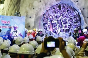 In Kuala Lumpur three Robbins Main Beam TBMs completed the excavation of Southeast Asia's longest tunnel in 2014<br />