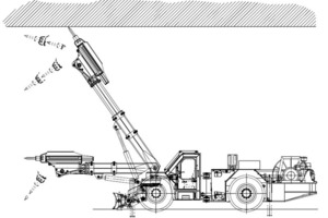 """<div class=""""bildtext_en"""">Paus Scaler PTS700; for special applications depending on on-site conditions, large machines with heavy hammers are also used to combine tasks such as scaling and rock crushing. The service weight here is 31t with an overall length of 12.5m for major heights up to 10m</div>"""