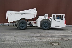 The new PMKT 10000 S dumper with explosion-proof protection(Photo: Paus)<br />