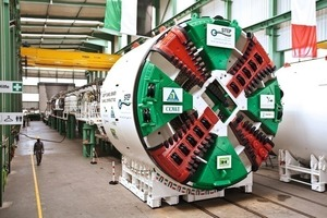 Herrenknecht tunnel-boring machine for the STEP project in Abu Dhabi