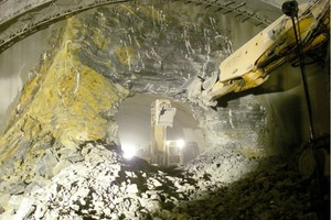 1  Breakthrough of the Jagdberg Tunnel in Thuringia/D<br />