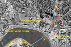 Plan View of the Orlovski Tunnel