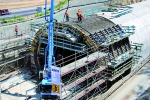 """<div class=""""bildtext_en"""">279 m of cut-and-cover tunnel were constructed for the Imberg rail tunnel on the new line Wendlingen–Ulm</div>"""