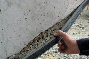Air pores in sealing area