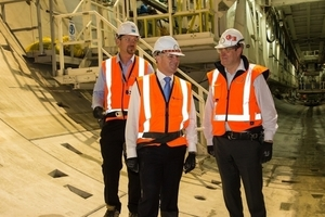 "<div class=""bildtext_en"">New Zealand Prime Minister John Key (center) visited the tunnel construction site in May 2014</div>"