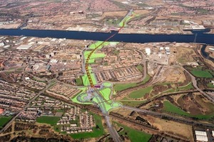 New Tyne Tunnels in Newcastle, UK