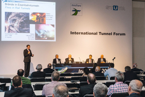 """<div class=""""bildtext_en"""">Highly topical subjects relating to mobility and tunnelling will be dealt with by the International Tunnel Forum at the InnoTrans in Berlin</div>"""