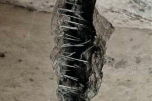 Steel Fibre Concrete after Breaking