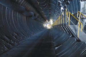 "<div class=""bildtext_en"">The TBM completed boring of the first decline tunnel in May 2014, and began its retraction back up from the blind heading</div>"