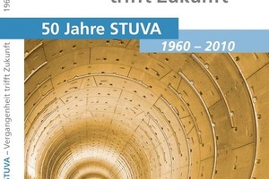 "6  Title of the jubilee publication ""50 Years STUVA – Past meets Future""<br />"