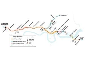 "<div class=""bildtext"">Crossrail Tunnelvortriebe [1] </div>"