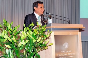 Prof. In-Mo Lee, ITA-President, welcoming the participants in Dubrovnik