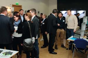 """<div class=""""bildtext"""">230 Teilnehmer aus 17 Ländern nahmen im November am 45. Geomechanik-Kolloquium mit Fachausstellung in Freiberg teil</div>"""
