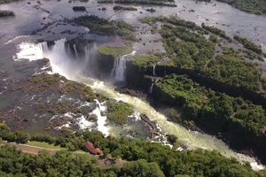 "<div class=""bildtext_en"">Venue of the 2014 WTC, IguassuFalls with its beautiful falls and the astonishing fauna and flora has, year after year, attracted more and more events </div>"