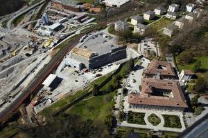 6Voreinschnitt Vezia, im Vordergrund Villa Negroni<br /><br />