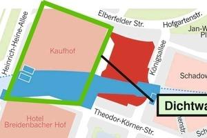10Sealing wall at the Kaufhof (administrative draft)<br />